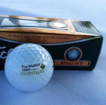 Matloff team golf ball