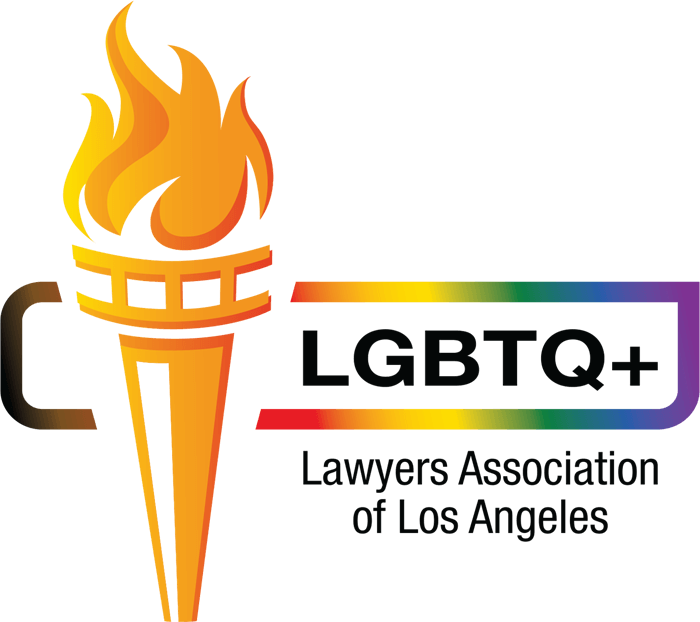 LGBTQ+ Lawyers Association of Los Angeles logo